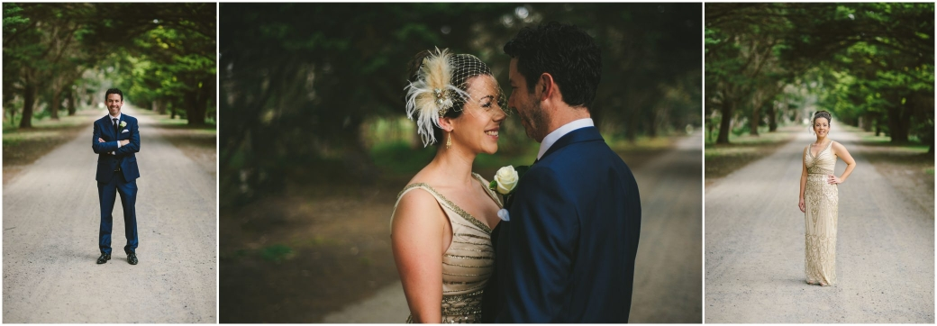 melbourne wedding photographer windows on the bay mordicallic first look Braeside park wedding day portraits