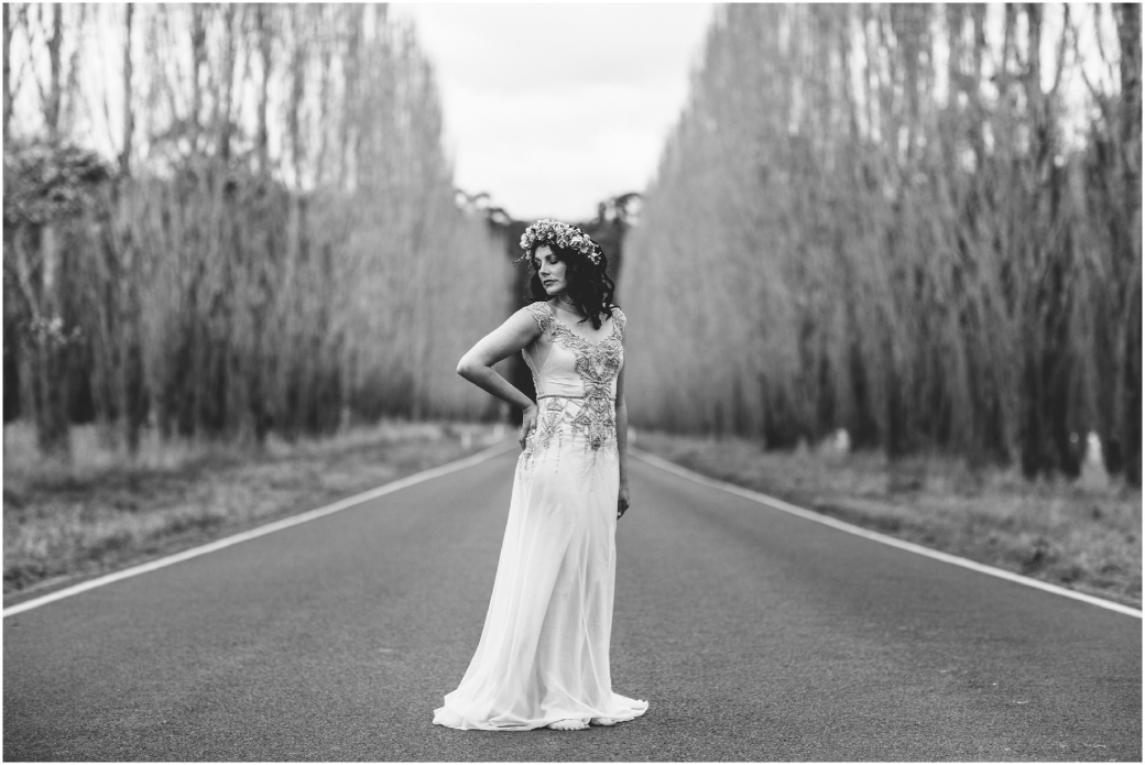 hotography Gwendolynne gowns bridal shoot snow Melbourne wedding photographer styled shoot01
