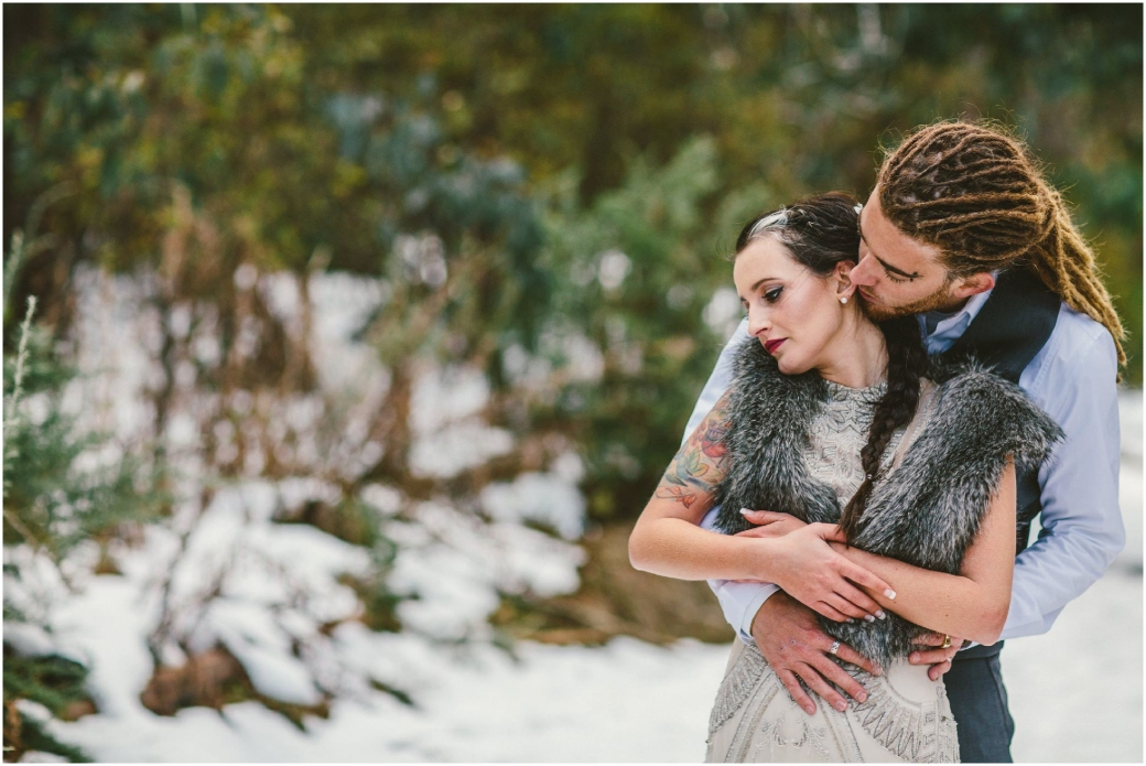 hotography Gwendolynne gowns bridal shoot snow Melbourne wedding photographer styled shoot15