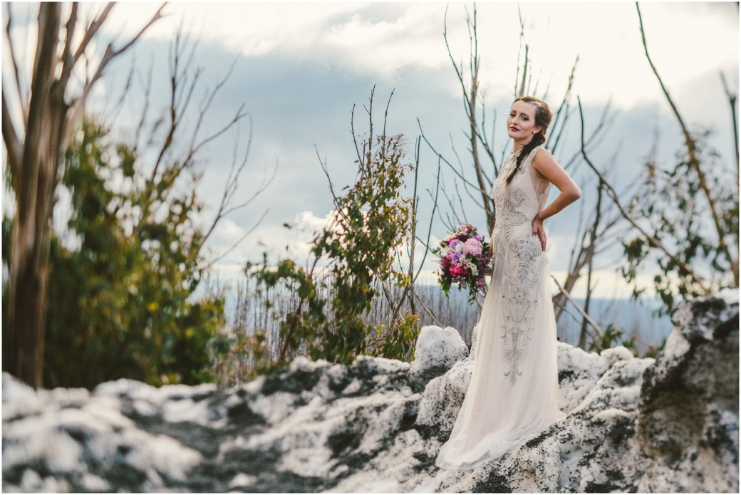 hotography Gwendolynne gowns bridal shoot snow Melbourne wedding photographer styled shoot17