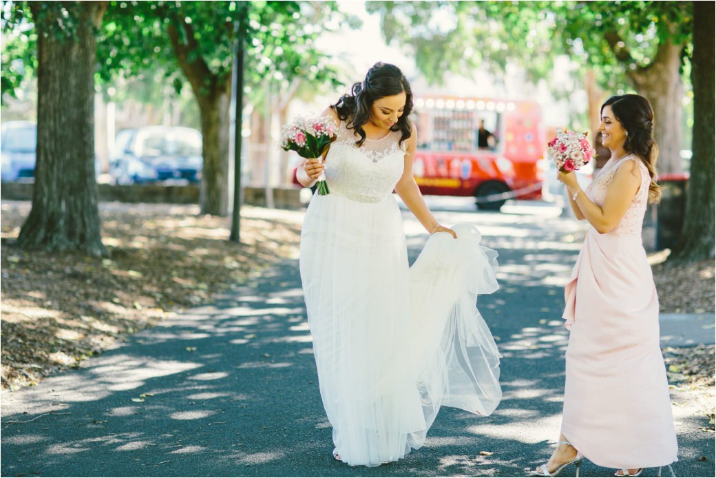 wedding photography Post office hotel Coburg lake first look alleyway Melbourne 14