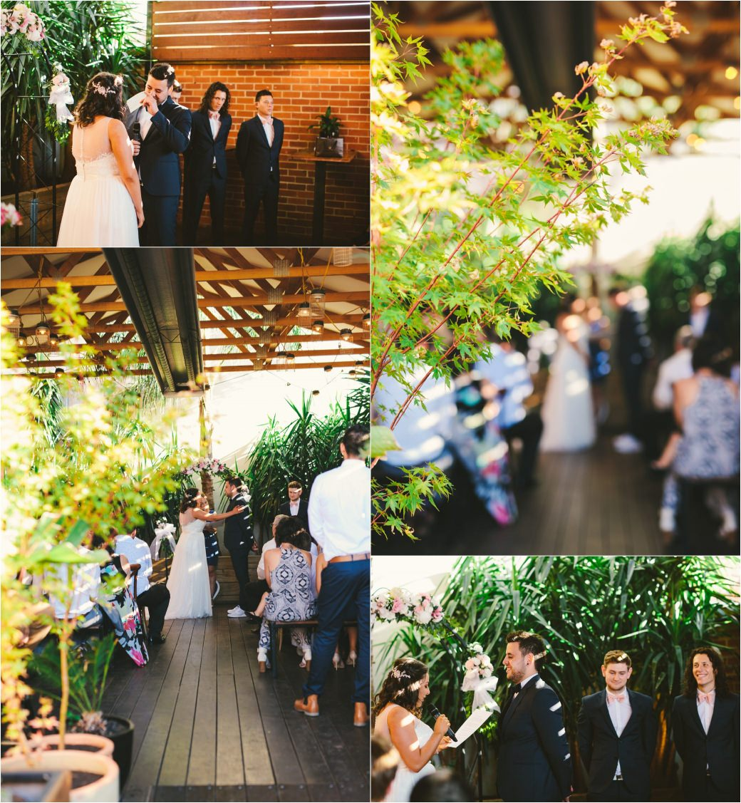 wedding photography Post office hotel Coburg lake first look alleyway Melbourne 39