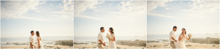 Glorious sunshiney Bushrangers Bay beach wedding ...